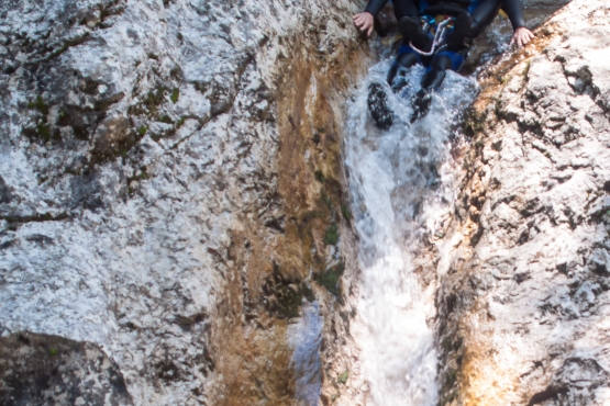 bovec canyoning
