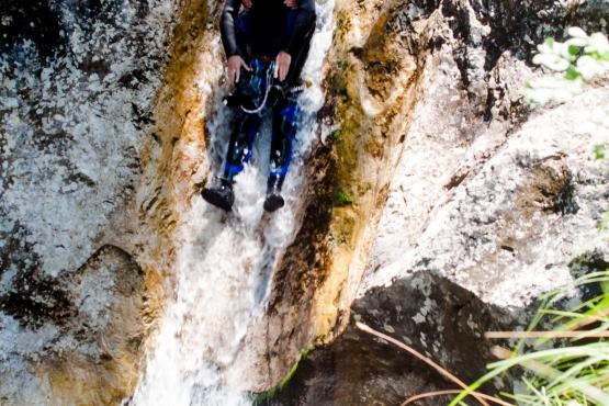 canyoning slovenija