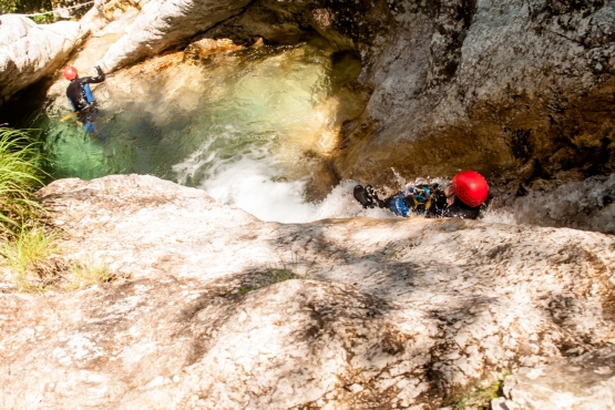 canyoning susec